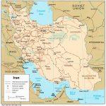 Irán en el Mapa